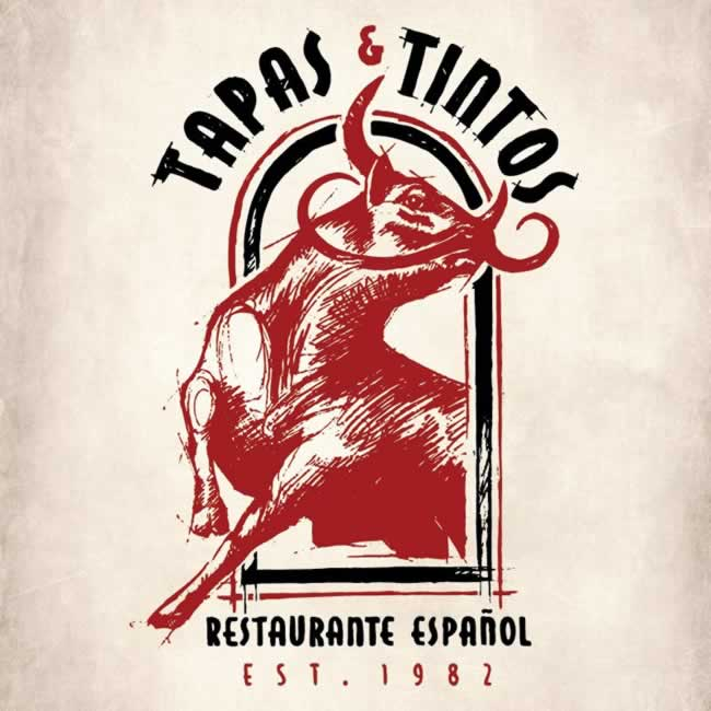 """Tapas y Tintos"" Restaurant on Española Way"