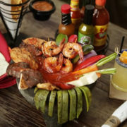 The Molcajete at Oh! Mexico in Miami