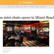 Cuban mini-chain opens in Miami Beach