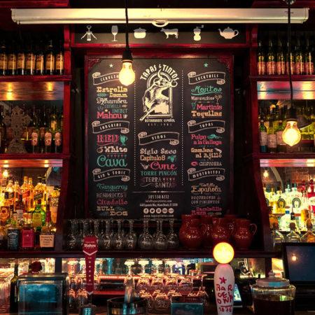 Tapas y Tintos Restaurante Español. Miami Beach.